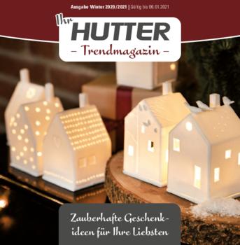Aktuelle Broschüre von Hutter Lifestyle Günzburg