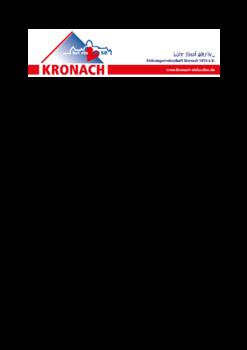 Aktuelle Broschüre von Aktionsgemeinschaft Kronach 1974 e.V. hat ein Herz für Sie.