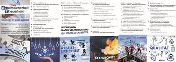 Aktuelle Broschüre von Arbeitssicherheit Theuerkorn