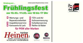 Aktuelle Broschüre von Autohaus Heinen - Zweirad-Fachgeschäft