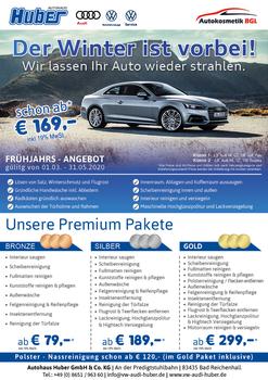 Aktuelles Prospekt von Autohaus Huber Bad Reichenhall