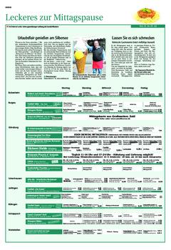 Aktuelle Broschüre von Cityinitiative Günzburg