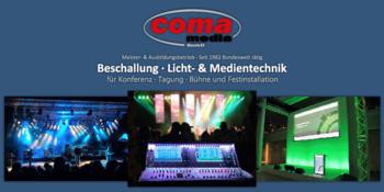 Aktuelle Broschüre von COMA media GmbH
