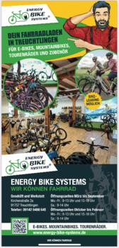 Aktuelle Broschüre von Energy Bike Systems