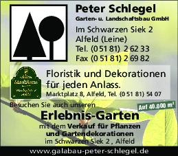 Aktuelles Prospekt von Erlebnisgarten Peter Schlegel