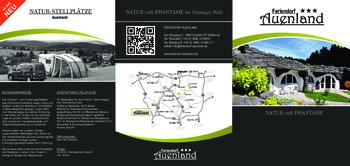 Aktuelle Broschüre von Feriendorf Auenland