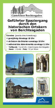Aktuelles Prospekt von Gästeführer Berchtesgaden