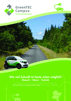 Aktuelle Broschüre von GreenTEC Campus