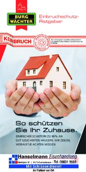 Aktuelle Broschüre von Hanselmann Eisenhandlung