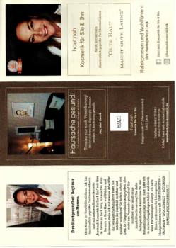 Aktuelle Broschüre von haut:nah Kosmetik für Sie & Ihn
