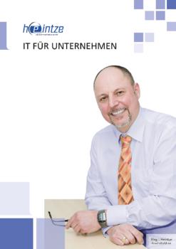Aktuelle Broschüre von heintze edv.kommunikation