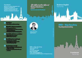 Aktuelle Broschüre von HeRo - Fremdsprachentraining