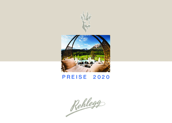 Aktuelle Broschüre von Hotel Rehlegg