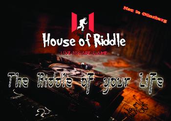 Aktuelle Broschüre von House of Riddle