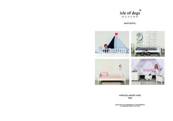 Aktuelle Broschüre von Isle of dogs DESIGN Wuppertal