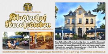 Aktuelle Broschüre von Klosterhof Knechtsteden