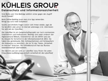 Aktuelle Broschüre von KÜHLEIS GROUP Datenschutz und Informationssicherheit