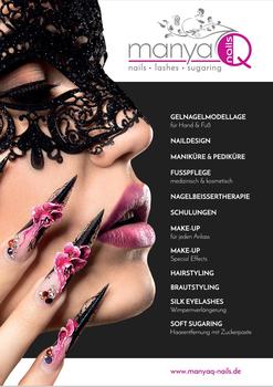 Aktuelle Broschüre von manyaQ Nails
