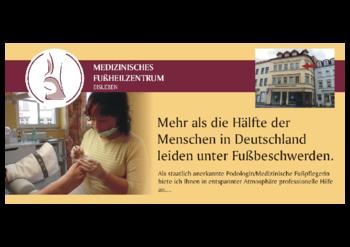 Aktuelle Broschüre von Medizinisches Fußheilzentrum Eisleben