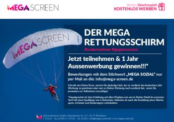 Aktuelles Prospekt von MEGA Screen Wuppertal