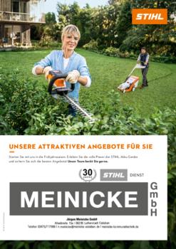 Aktuelle Broschüre von Meinicke GmbH