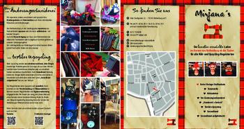 Aktuelle Broschüre von Mirjana´s Änderungsschneiderei   Retro-Vintage-Stoffe   Textiles Upcycling