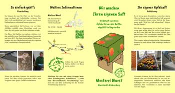Aktuelle Broschüre von Mosterei Wurst
