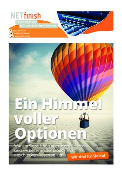 Aktuelle Broschüre von NETfinish GmbH