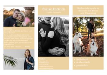 Aktuelle Broschüre von Paalke Dietrich Photography