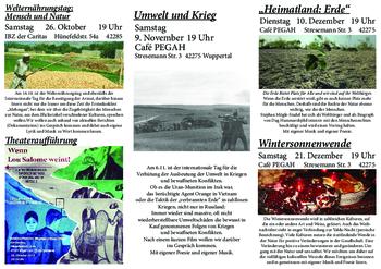 Aktuelle Broschüre von Pegah