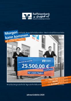 Aktuelle Broschüre von Raiffeisenbank im Grabfeld eG