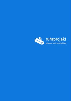 Aktuelle Broschüre von Ruhrprojekt Planen + Einrichten