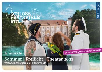 Aktuelle Broschüre von Schlossfestspiele Ettlingen