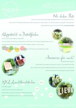 Aktuelle Broschüre von Schnicki Schnacki