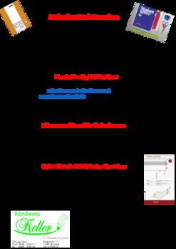 Aktuelle Broschüre von Schreibwaren Keller