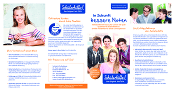 Aktuelle Broschüre von Schülerhilfe Bedburg