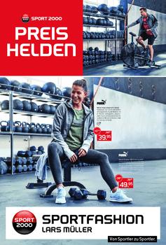 Aktuelle Broschüre von Sportfashion Lars Müller