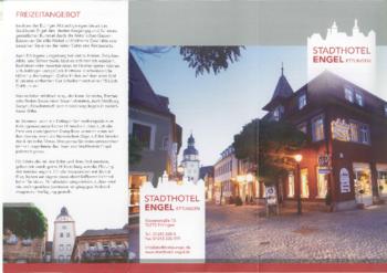 Aktuelle Broschüre von Stadthotel Engel
