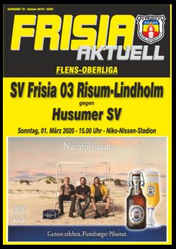 Aktuelle Broschüre von SV Frisia 03 (1. Herren)
