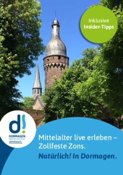 Aktuelle Broschüre von Tourist-Information Zons