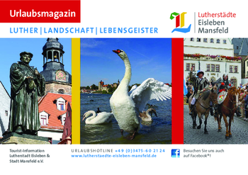 Aktuelle Broschüre von Tourist-Information Lutherstadt Eisleben & Stadt Mansfeld e.V.