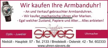 Aktuelle Broschüre von Uhren & Optik Sievers