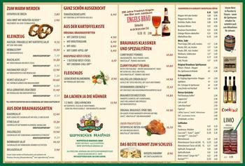 Aktuelle Broschüre von Wuppertaler Brauhaus