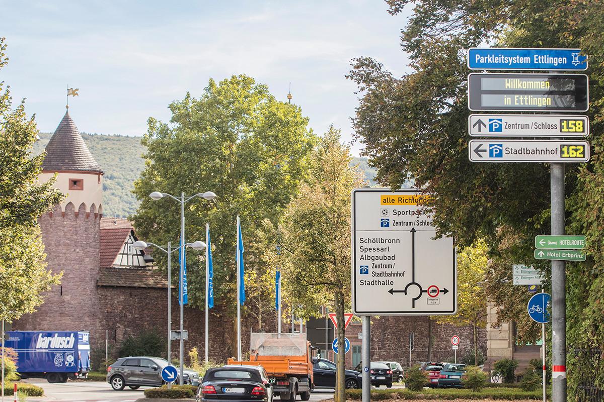 Parken in Ettlingen