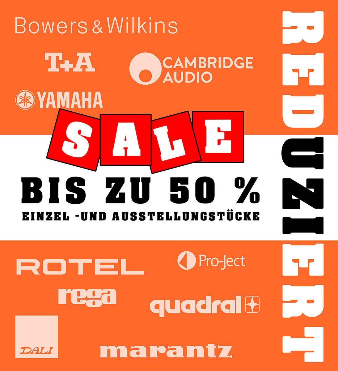 SALE! Diverse Einzelstücke & Ausstellungsstücke bis zu 50% REDUZIERT!