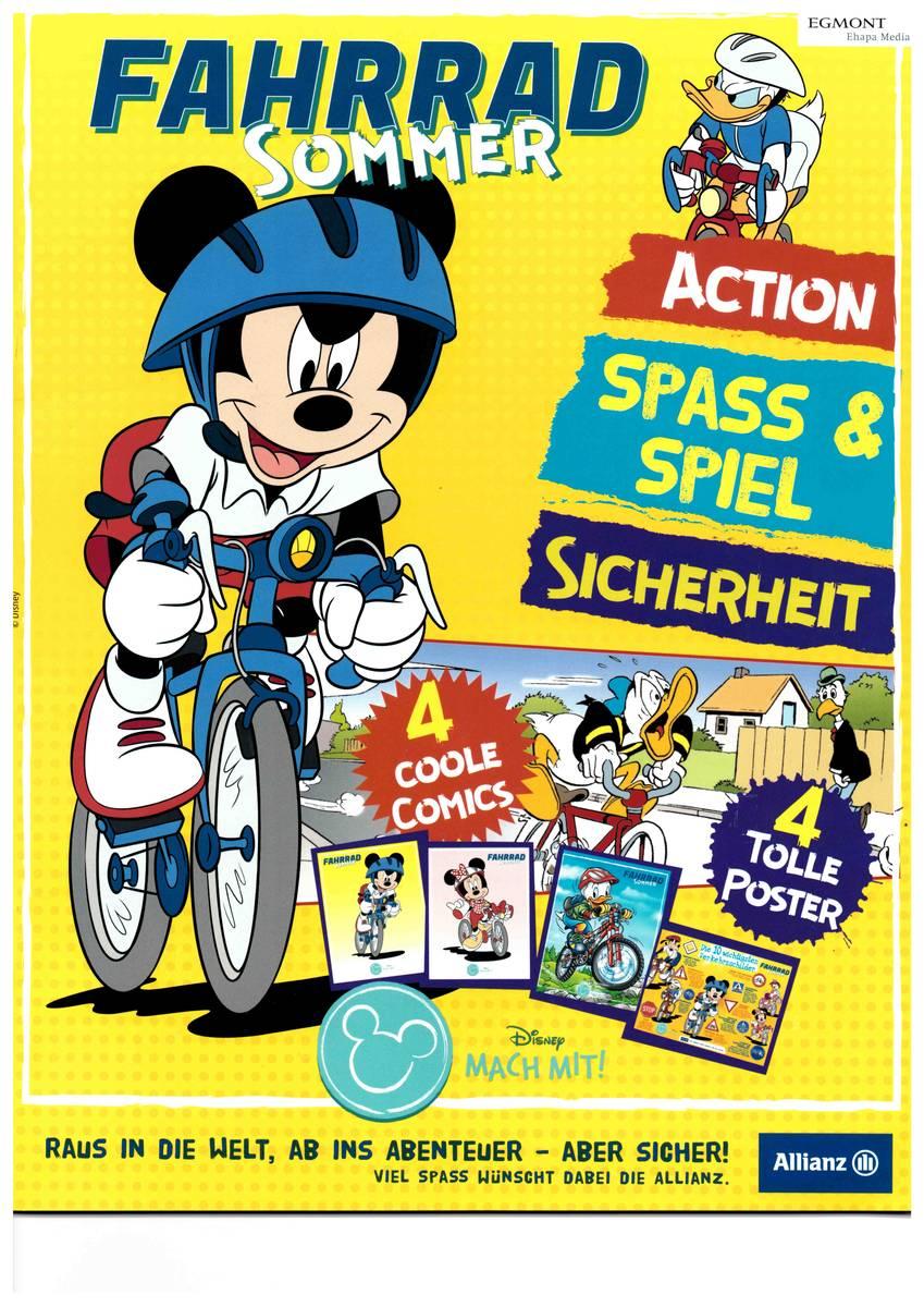 kostenlose Sonderausgabe des MickeyMaus-Magazins