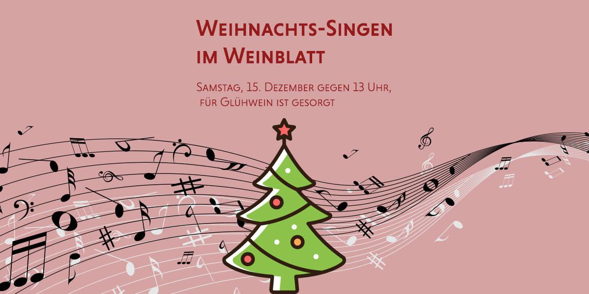 Wir singen mit Euch ein Weihnachtslied\