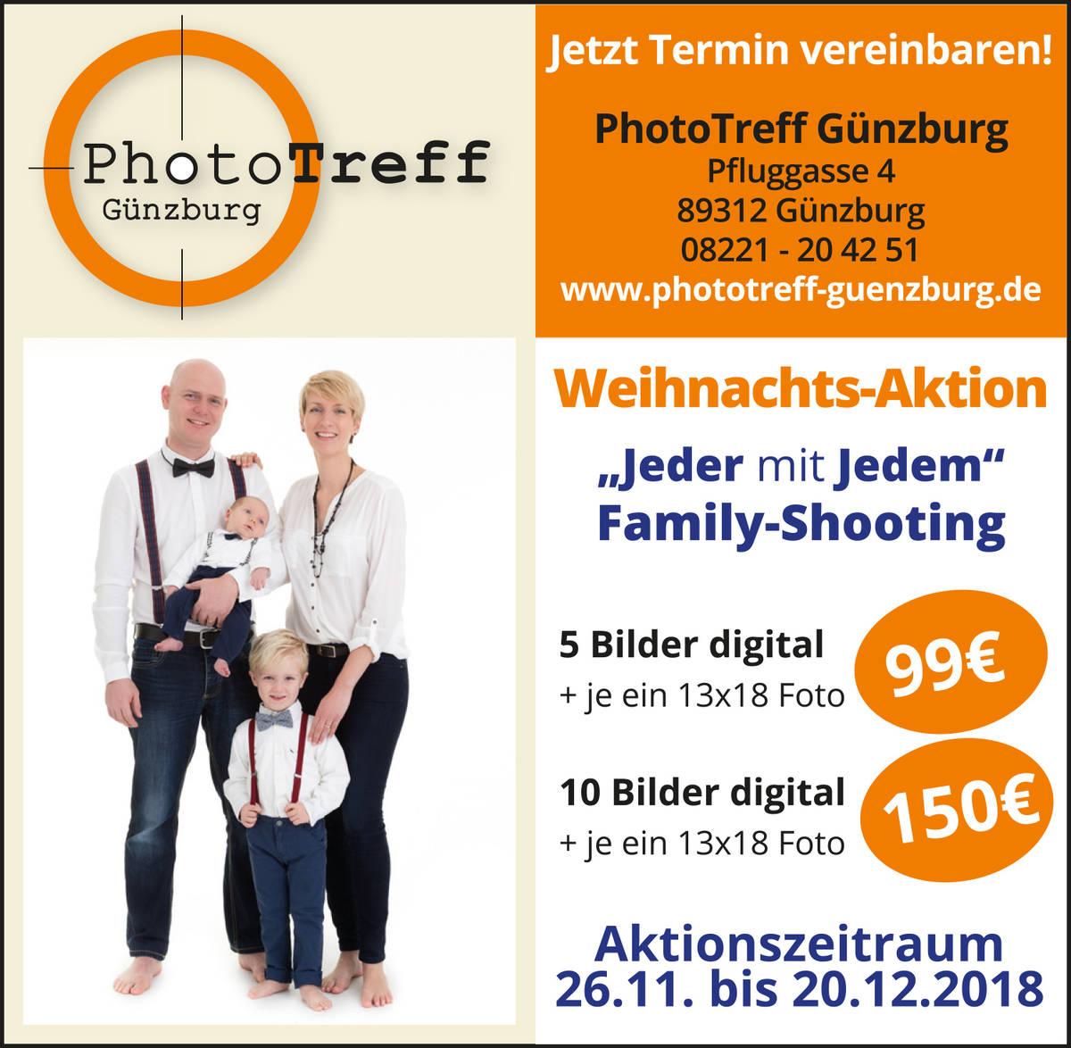 "FOTOAKTION: Familyshooting ""Jeder mit Jedem"""