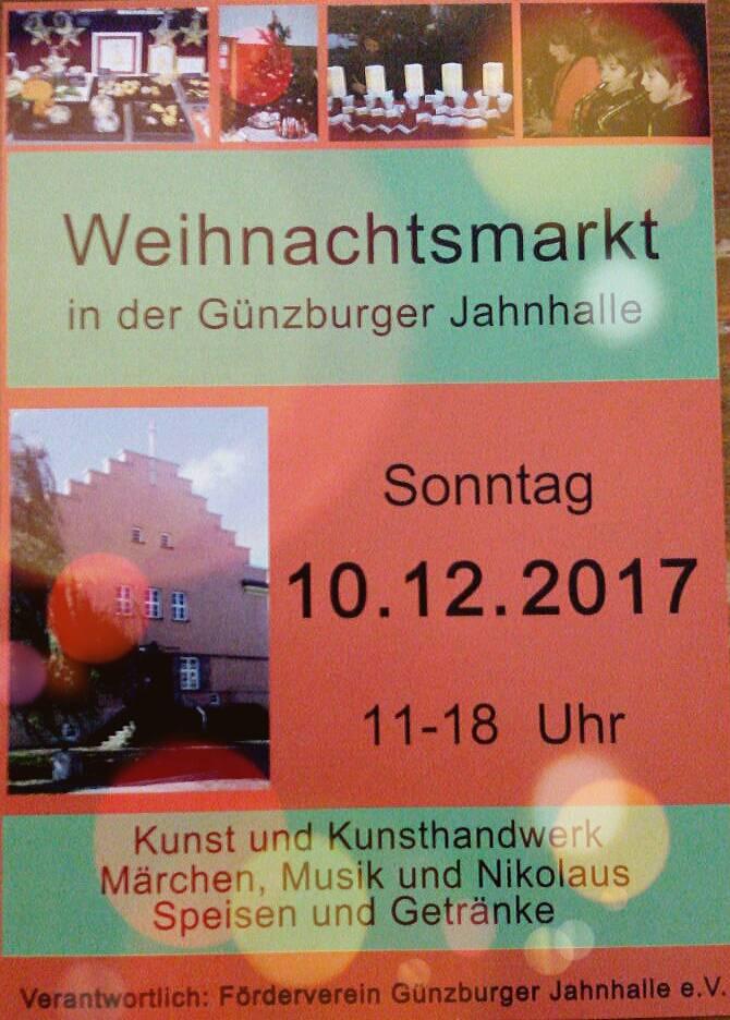 Weihnachtsmarkt Jahnhalle Kunsthandwerk