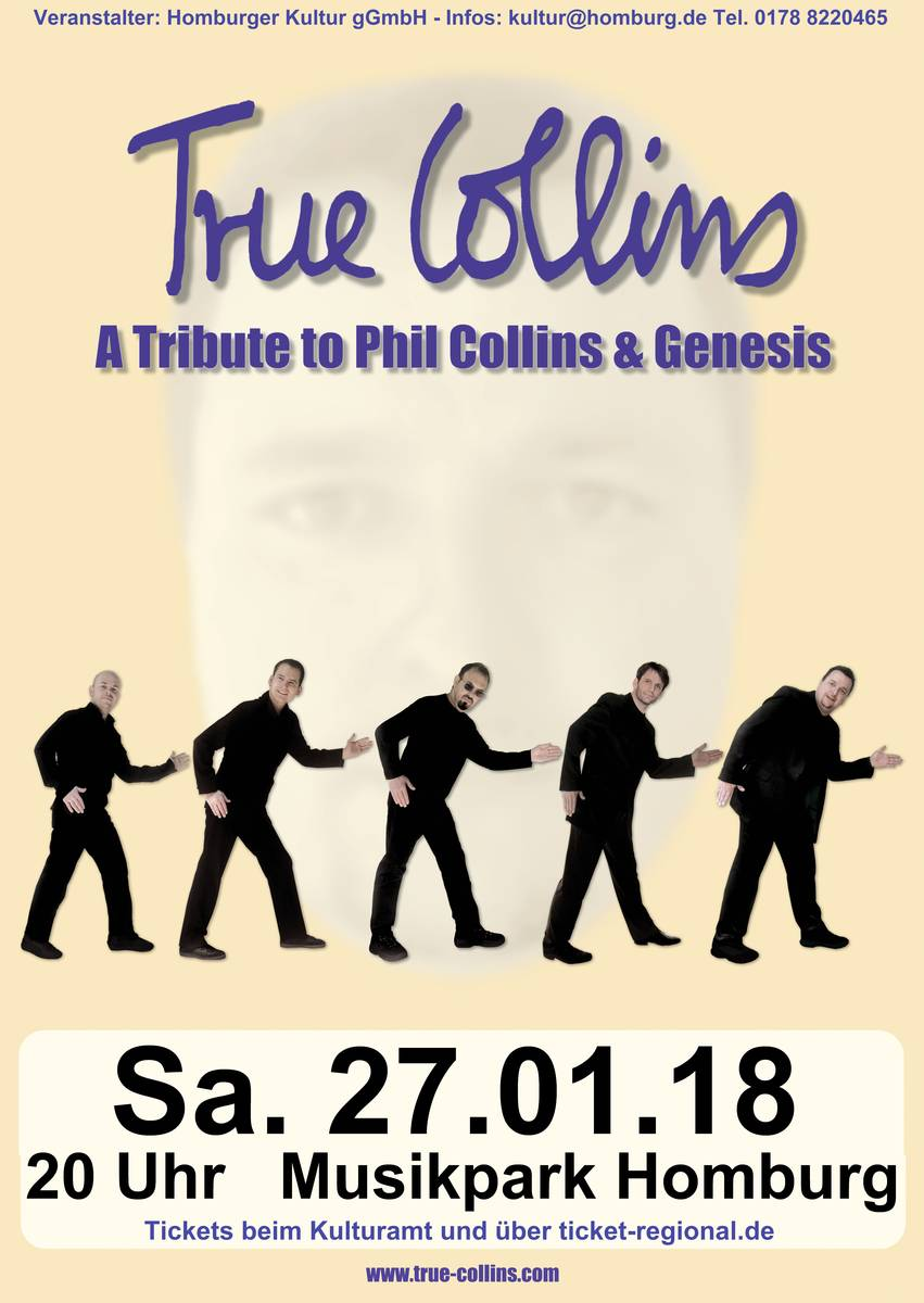 True Collins - A Tribute to Phil Collins & Genesis